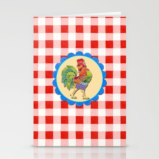Rise and Shine Rooster Stationery Cards