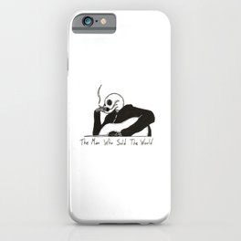 The Man Who Sold the World iPhone Case
