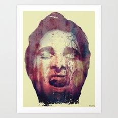 BLOODLUST (Patrick Bateman of American Psycho) Art Print