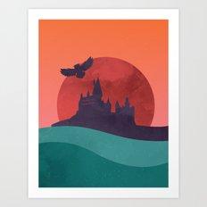 Hogwarts Summer Art Print