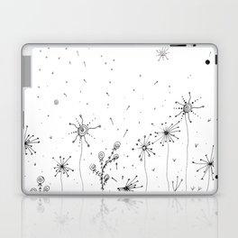 Floral Doodle Art Illustration Laptop & iPad Skin