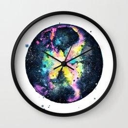 Rainbow Galaxy (Kirsten's Galaxy) Wall Clock