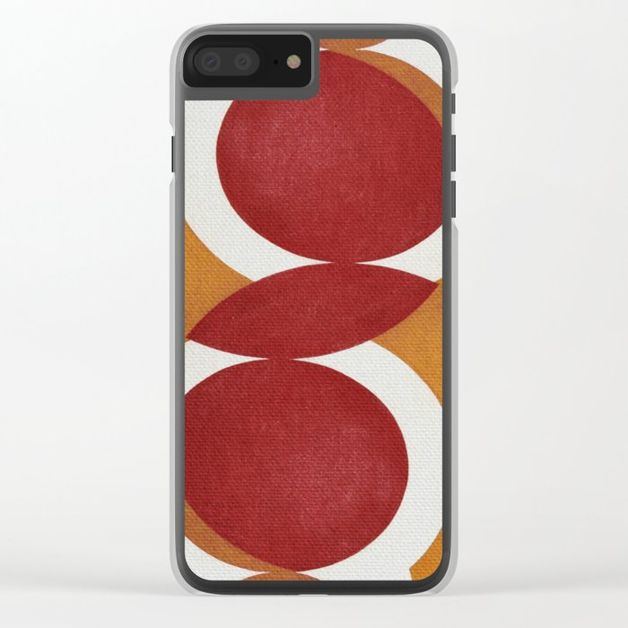 Conflict of Interest Clear iPhone Case