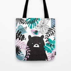 Bear adventure Tote Bag