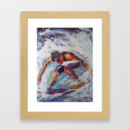 SUFFER 2015  Framed Art Print