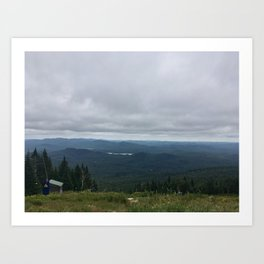 Mountain View | Montreal Art Print