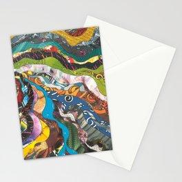 inside my brain Stationery Cards