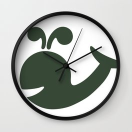 Stanley Whale Wall Clock