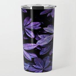 Stillness, Botanical Plants Leaves Travel Mug