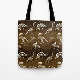 Fossil Dinosaur Pattern Tote Bag