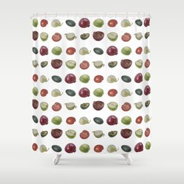 Fruits and Veggies Shower Curtain