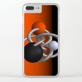 trapped -2of3- Clear iPhone Case