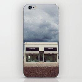 Summer storm | Marfa, Texas iPhone Skin