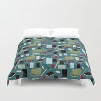 wallet Duvet Covers featuring In Your Bag by S. Vaeth