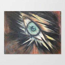 Leering Eye Canvas Print