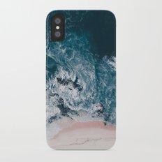 I love the sea - written on the beach Slim Case iPhone X