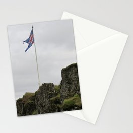 Icelandic Flag Stationery Cards