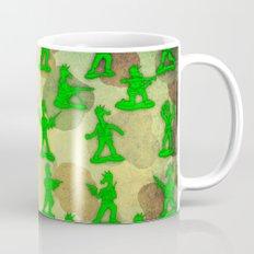 Little Green Army Unicorn Mug
