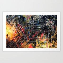 The stars above us Art Print