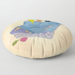 Untitled (the lost digest) Floor Pillow