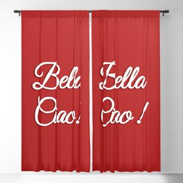 Bella Ciao Blackout Curtain