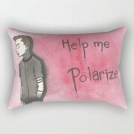 Polarize By Maria Piedra Rectangular Pillow