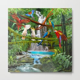 Enchanted Jungle Metal Print