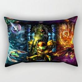 Metroid: 25 Years Rectangular Pillow