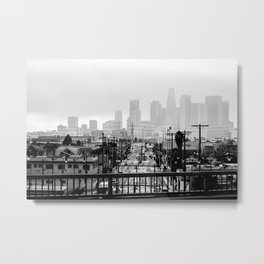 Angel City Metal Print