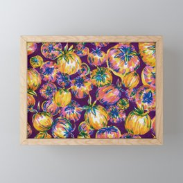 ~rainbo tomato~ Framed Mini Art Print