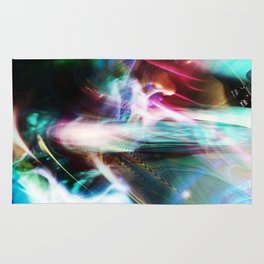 """""""Cosmic Flow: Reversed"""" Rug"""