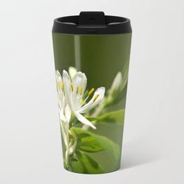 Honeysuckle Flowers Travel Mug