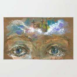 Castle in the Clouds Rug