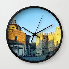 The Square - Prato Wall Clock