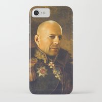 replaceface iPhone & iPod Cases featuring Bruce Willis - replaceface by replaceface