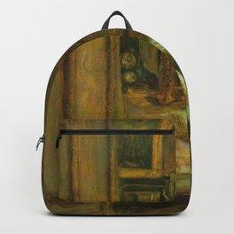 John Everett Millais - The Eve of St Agnes Backpack