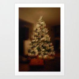 "Christmas Tree - ""W"" Art Print"