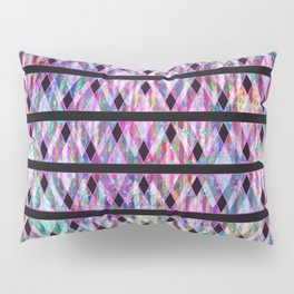 Geometric Glossy Pattern G330 Pillow Sham