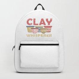 Clay Display Backpack