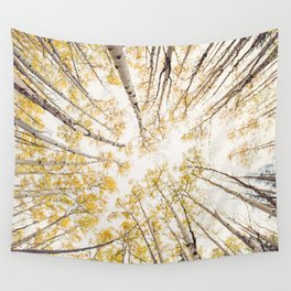 fall looking up Wall Tapestry
