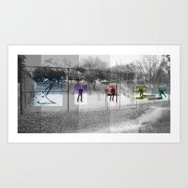 Skater Series #3 Art Print