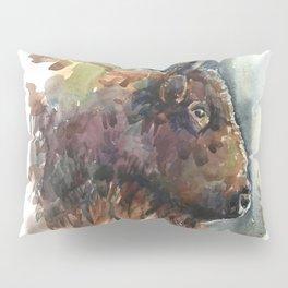 Bison. Pillow Sham