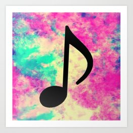 MUSIC 15 Art Print