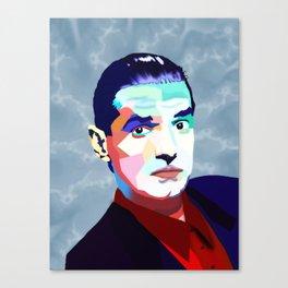 Portrait of Hans Holzel (Falco) Canvas Print