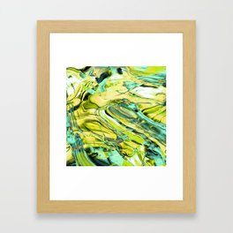 ABSTRACT COLORFUL PAINTING III Framed Art Print