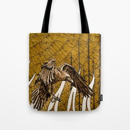The Birth of the Raven Tote Bag