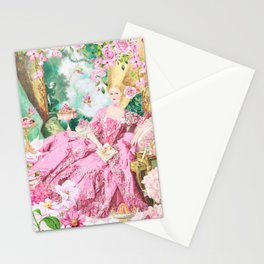 Marie Antoinette Garden Party Stationery Cards