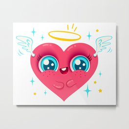 Angel heart Metal Print