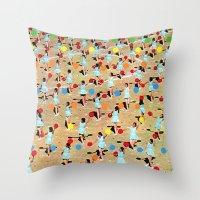 dance Throw Pillows featuring DANCE by Ben Giles
