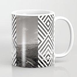 You will see me flying like a wild rain... (Vintage b/w) Coffee Mug